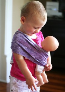 Baby Wearing Baby
